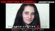 Sex Castings Valentina gardell
