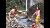 Sabrine maui - bts - waterfall + 1 boy