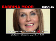 See the audition of Sabrina Moor