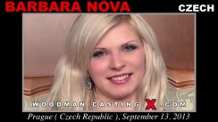 Casting of BARBARA NOVA video