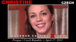Casting of CHRISTINE video