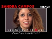 See the audition of Sandra Campos
