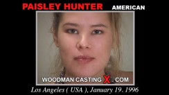 Casting of PAISLEY HUNTER video