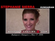 See the audition of Stephanie Sierra