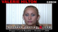 Casting of VALERIE HILTON video