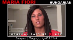 Casting of MARIA FIORI video
