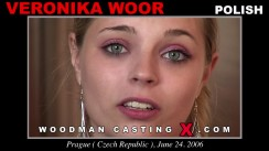 Casting of VERONIKA WOOR video