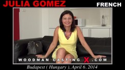 Casting of JULIA GOMEZ video