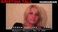 Casting of KRISTINA TALL video