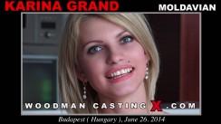 Casting of KARINA GRAND video