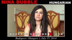 Casting of NINA BUBBLE video