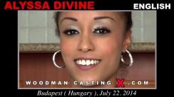 Casting of ALYSSA DIVINE video