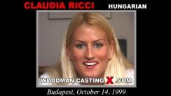 Casting of CLAUDIA RICCI video