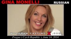 Casting of GINA MONELLI video