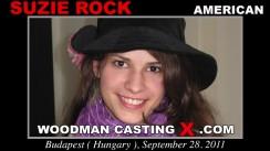 Casting of SUZIE ROCK video