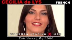 Casting of CECILIA De LYS video