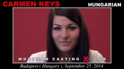 Casting of CARMEN KEYS video