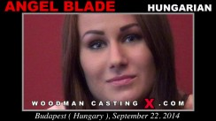 Casting of ANGEL BLADE video