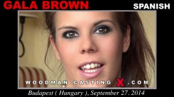 Casting of GALA BROWN video