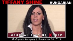 Casting of TIFFANY SHINE video