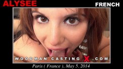 Casting of ALYSEE video