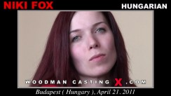 Casting of NIKI FOX video