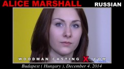 Casting of ALICE MARSHALL video