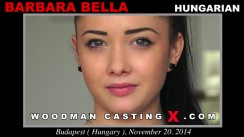 Casting of BARBARA BELLA video