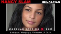 Casting of NANCY SLAM video