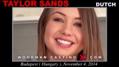 Casting of TAYLOR SANDS video