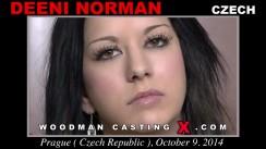 Casting of DEENI NORMAN video