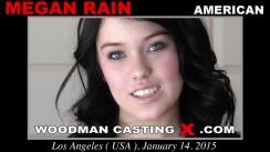 Casting of MEGAN RAIN video