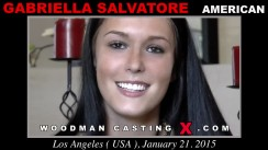 Casting of GABRIELLA SALVATORE video