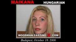 Casting of MAIKANA video