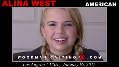 Casting of ALINA WEST video