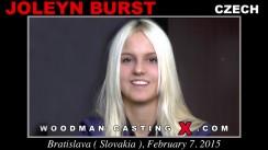 Casting of JOLEYN BURST video