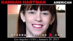 Casting of HANNAH HARTMAN video