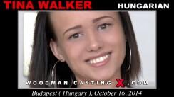 Casting of TINA WALKER video