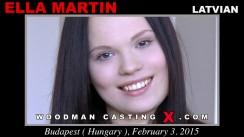 Casting of ELLA MARTIN video