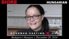 Casting of DIORE video