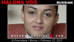 Casting of HALONA VOG video