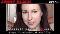 Casting of JENNY BLACK video