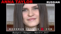 Casting of ANNA TAYLOR video