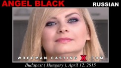 Casting of ANGEL BLACK video