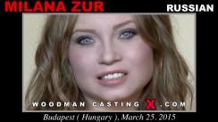 Casting of MILANA ZUR video