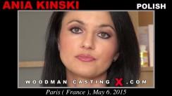 Casting of ANIA KINSKI video