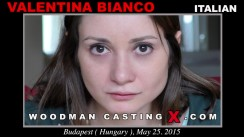 Casting of VALENTINA BIANCO video