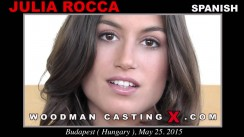 Casting of JULIA ROCA video