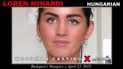 Casting of LOREN MINARDI video