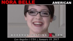 Casting of NORA BELLE video